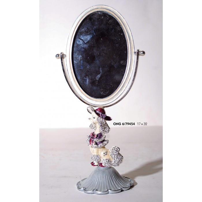Καθρέπτης Μακιγιάζ Πολυεστερικός Royal Art 17x32εκ. ONG6/79454 (Υλικό: Πολυεστερικό) - Royal Art Collection - ONG6/79454