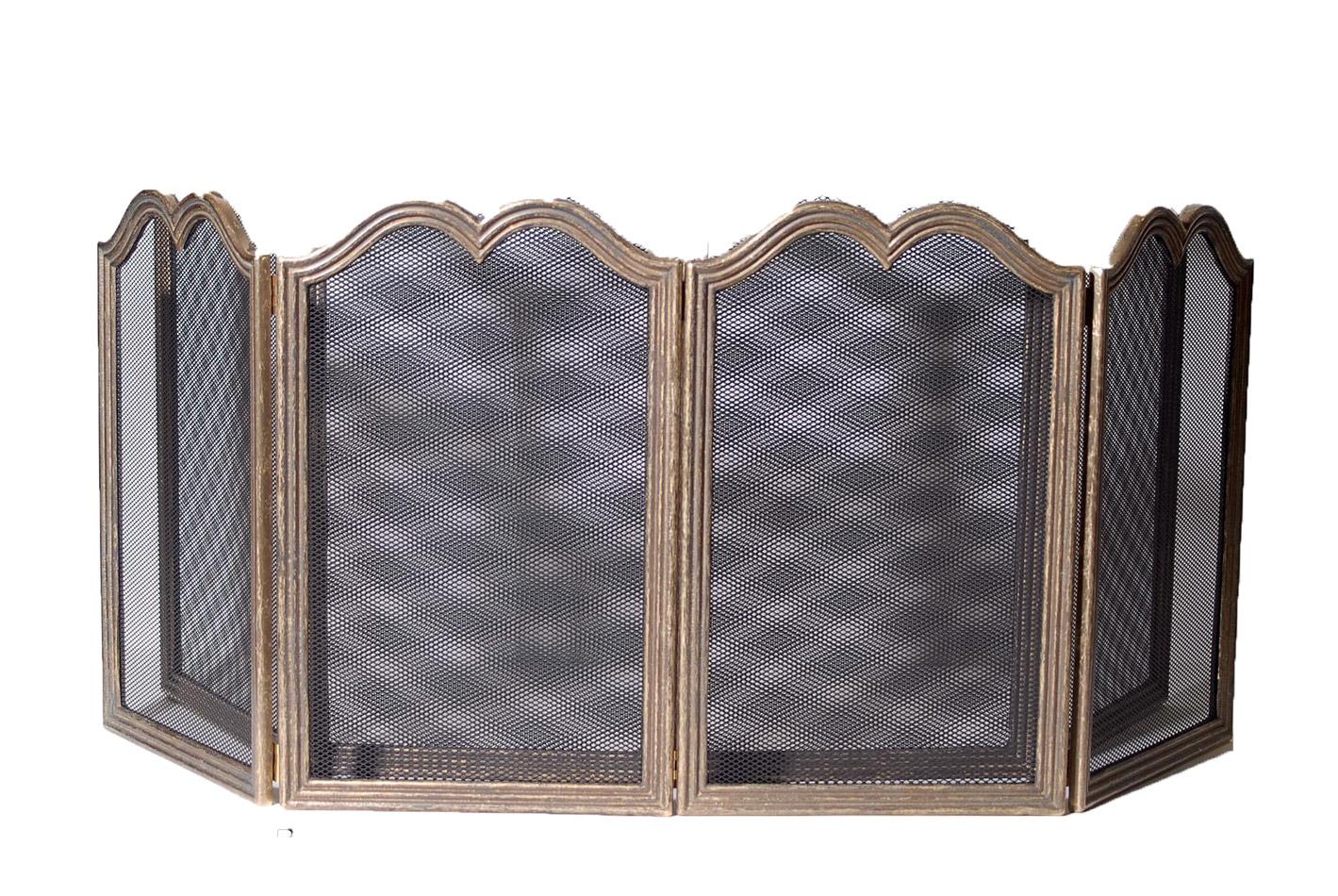 Προστατευτικό Τζακιού Μπρούτζινο Royal Art 100x50εκ. LEB1011BR (Υλικό: Μπρούτζινο) - Royal Art Collection - LEB1011BR