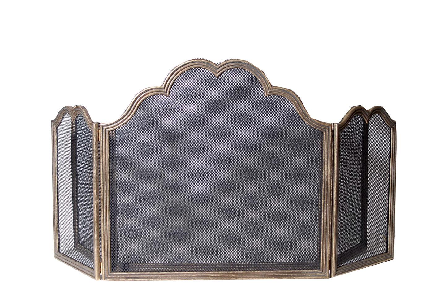 Προστατευτικό Τζακιού Μπρούτζινο Royal Art 100x60εκ. LEB1013BR (Υλικό: Μπρούτζινο) - Royal Art Collection - LEB1013BR