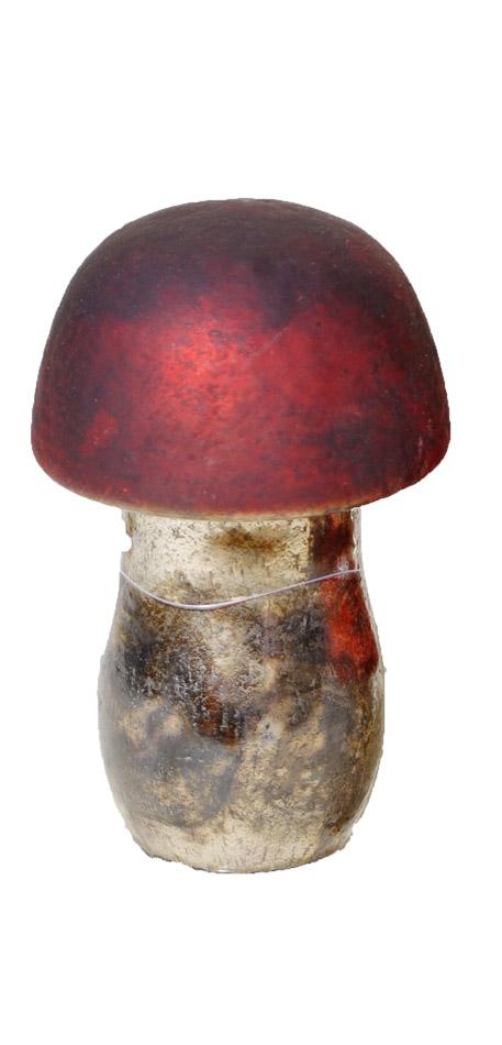 Διακοσμητικό Μανιτάρι Royal Art 10x10x16εκ. NER2232 (Υλικό: Γυαλί) - Royal Art Collection - NER2232