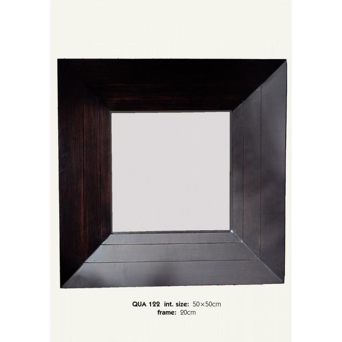 Καθρέπτης Ξύλινος Royal Art 50x50εκ. QUA122 (Υλικό: Ξύλο) - Royal Art Collection - QUA122