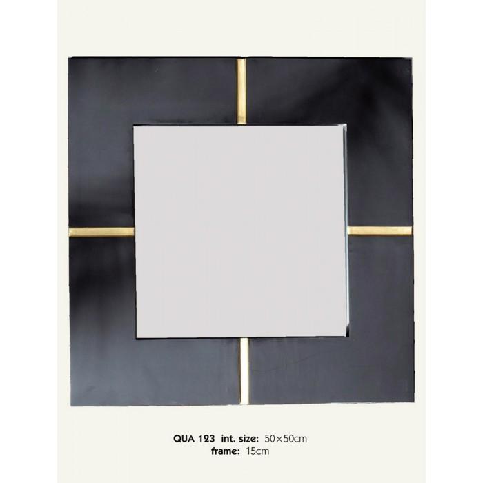 Καθρέπτης ξύλινος Royal Art 50x50εκ. QUA123 (Υλικό: Ξύλο) - Royal Art Collection - QUA123