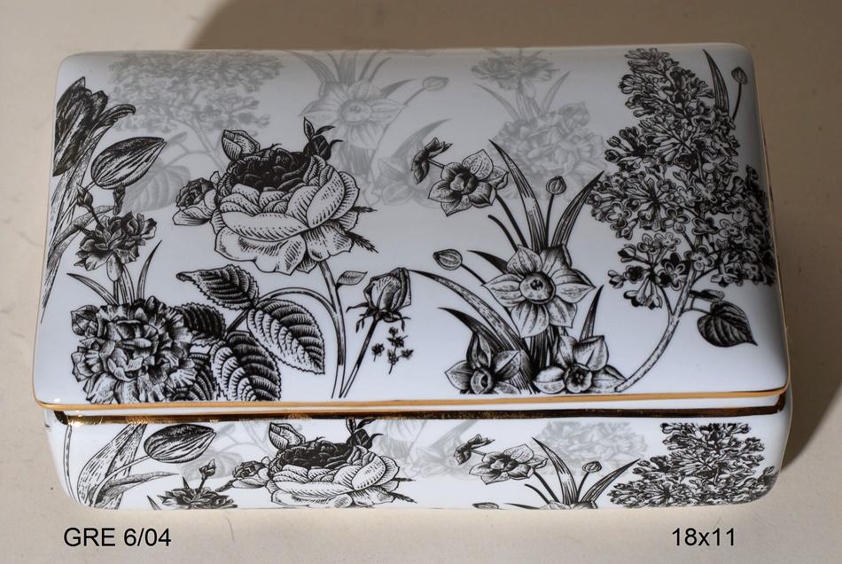 Φοντανιέρα Πορσελάνης Royal Art 15εκ. GRE6/04 (Υλικό: Πορσελάνη) - Royal Art Collection - GRE6/04