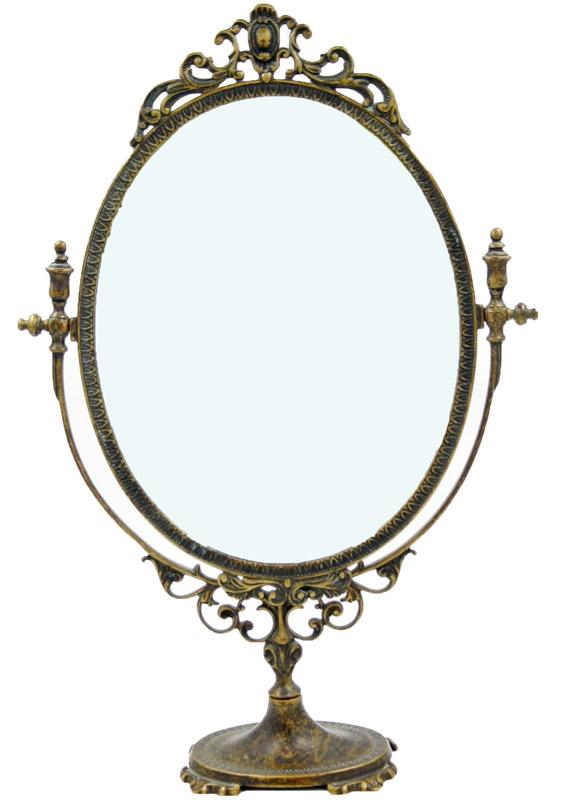 Επιτραπέζιος Kαθρέπτης Μπρούτζινος Royal Art 56εκ. STL068BR (Υλικό: Μπρούτζινο) - Royal Art Collection - STL068BR