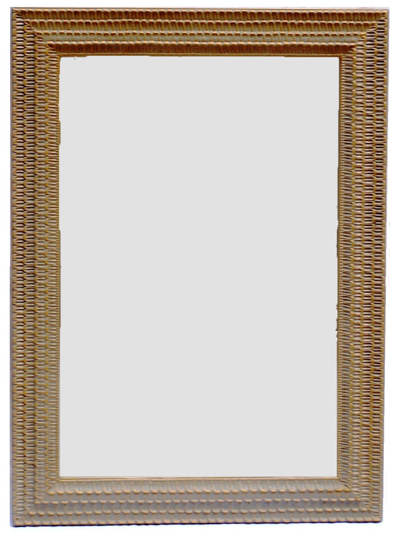 Καθρέπτης Ξύλινος Royal Art 60x90εκ. INA3/3223/90GRE (Υλικό: Ξύλο) - Royal Art Collection - INA3/3223/90GRE