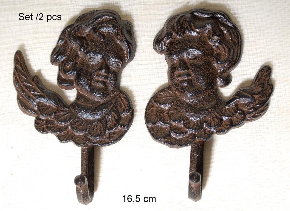 Σετ 2τμχ Κρεμάστρα Μεταλλική Royal Art 16,5εκ. CAS2/640/41A (Υλικό: Μεταλλικό) – Royal Art Collection – CAS2/640/41A