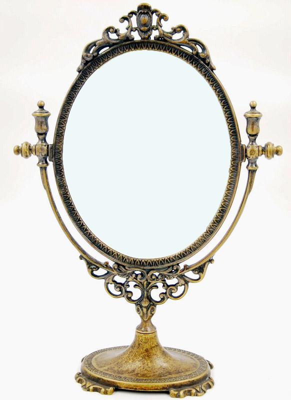 Επιτραπέζιος Kαθρέπτης Μπρούτζινος Royal Art 48εκ. STL066BR (Υλικό: Μπρούτζινο) - Royal Art Collection - STL066BR