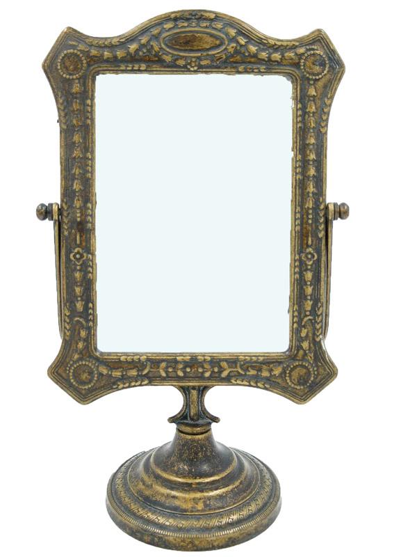 Επιτραπέζιος Kαθρέπτης Μπρούτζινος Royal Art 35εκ. STL062BR (Υλικό: Μπρούτζινο) - Royal Art Collection - STL062BR