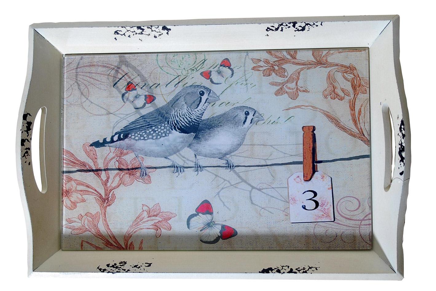 Δίσκος Σερβιρίσματος Ξύλινος Royal Art 44x28x6εκ. INX1/06/2 (Υλικό: Ξύλο) – Royal Art Collection – INX1/06/2