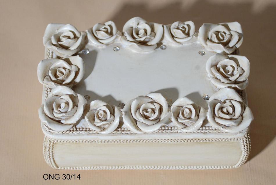 Μπιζουτιέρα Χειροποίητη Polyester Royal Art ONG30/14 (Υλικό: Polyester) – Royal Art Collection – ONG30/14