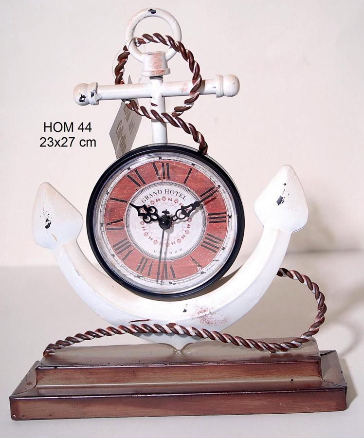 Επιτραπέζιο Ρολόι Μεταλλικό Royal Art 23x27εκ. HOM44 (Υλικό: Μεταλλικό) - Royal Art Collection - HOM44