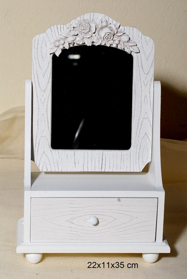 Μπιζουτιέρα Ξύλινη Με Καθρέπτη Royal Art 22x11x35εκ. DUE16/4596 (Υλικό: Ξύλο) – Royal Art Collection – DUE16/4596