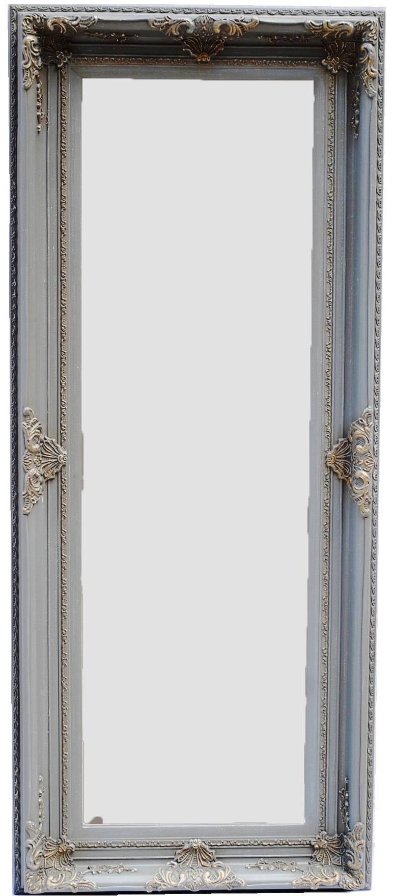 Καθρέπτης Ξύλινος Royal Art 90x150εκ. INA3/3088/150GRE (Υλικό: Ξύλο) - Royal Art Collection - INA3/3088/150GRE
