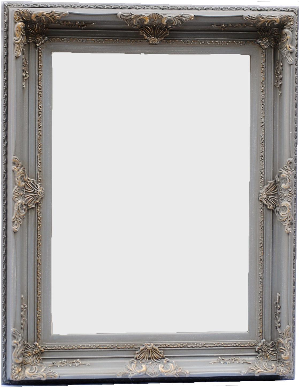 Καθρέπτης Ξύλινος Royal Art 50x70εκ. INA3/3088/70GRE (Υλικό: Ξύλο) - Royal Art Collection - INA3/3088/70GRE