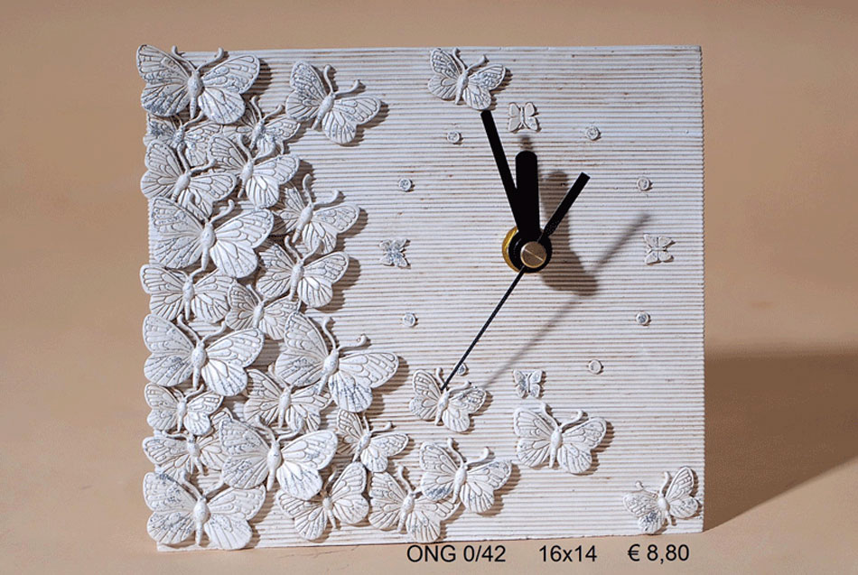 Ρολόι Πολυεστερικό Royal Art 16x14εκ. ONG0/42 (Υλικό: Πολυεστερικό) - Royal Art Collection - ONG0/42