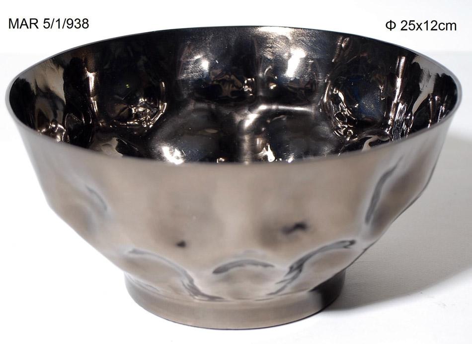Διακοσμητικό Μπωλ Αλουμινίου Royal Art 25×12εκ. MAR5/1/938 (Υλικό: Αλουμίνιο) – Royal Art Collection – MAR5/1/938