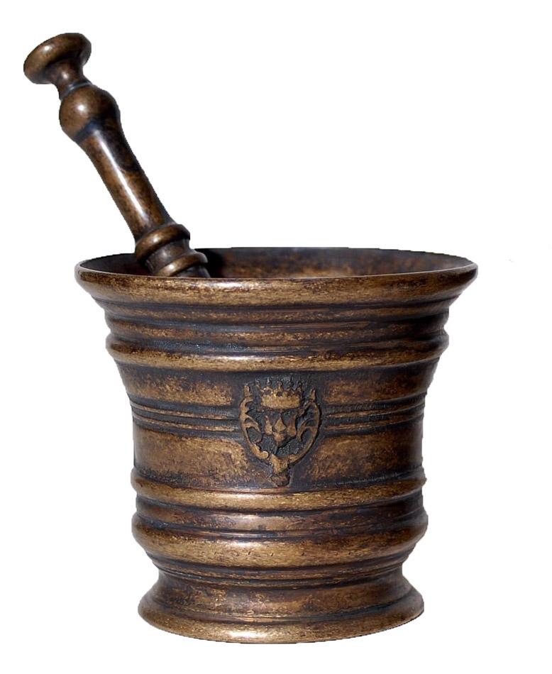Γουδοχέρι Μπρούτζινο Royal Art – 10εκ. STL261BR (Υλικό: Μπρούτζινο) – Royal Art Collection – STL261BR