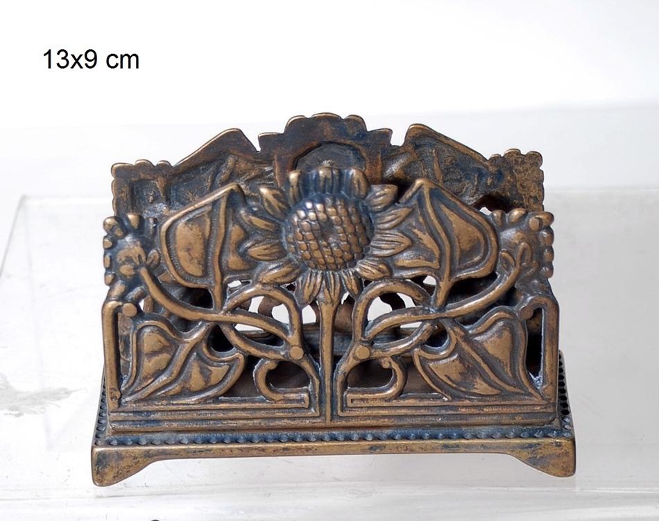 Χαρτοπετσετοθήκη Αντικέ-Μπρούτζινη Royal Art 13×9εκ. STL339BR (Υλικό: Μπρούτζινο) – Royal Art Collection – STL339BR