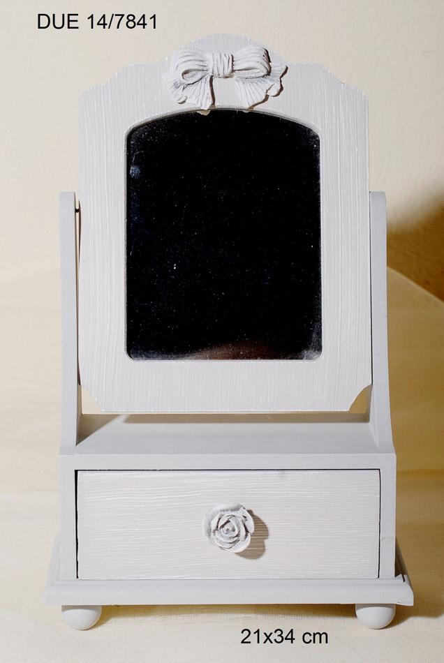 Μπιζουτιέρα Ξύλινη Με Καθρέπτη Royal Art 21×34εκ. DUE14/7841 (Υλικό: Ξύλο) – Royal Art Collection – DUE14/7841