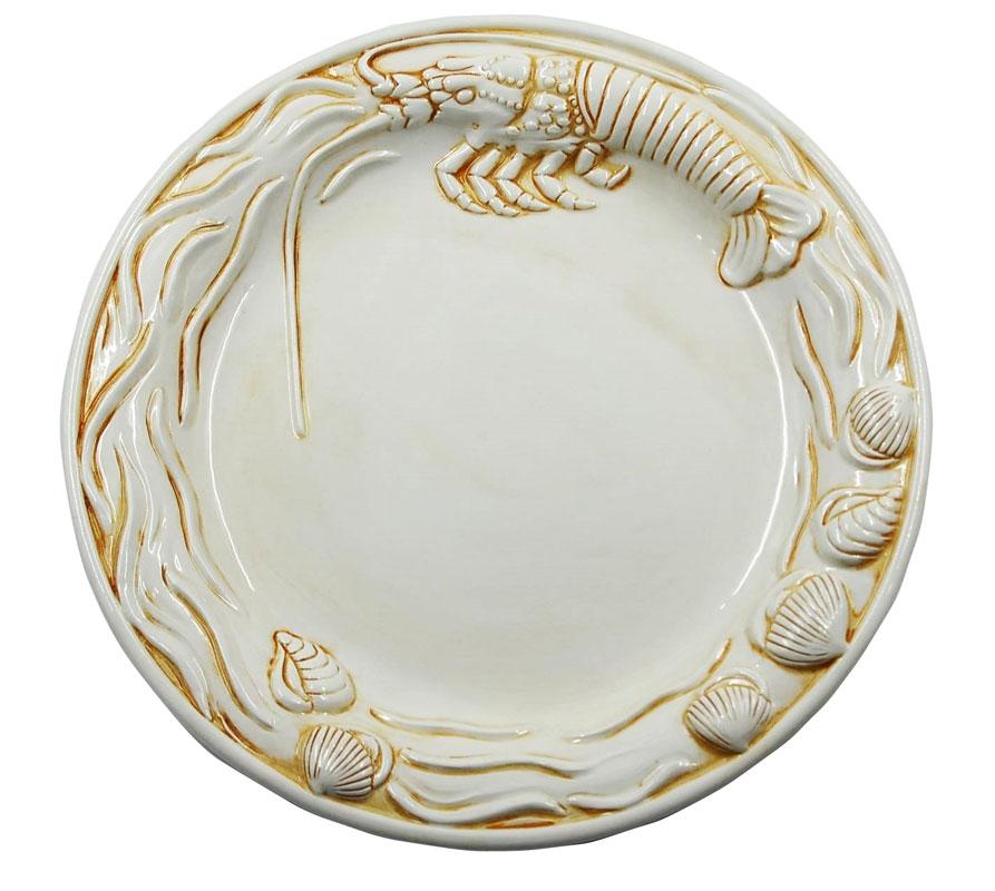 Πιατέλα Σερβιρίσματος Φαγιάνς Royal Art 40εκ. LUM1449 (Χρώμα: Λευκό, Υλικό: Φαγιάνς) – Royal Art Collection – LUM1449