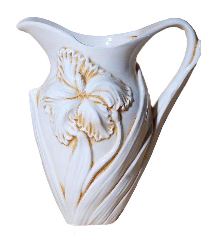 Κανάτα Φαγιάνς Royal Art 24εκ. LUM01 (Χρώμα: Λευκό, Υλικό: Φαγιάνς) – Royal Art Collection – LUM01