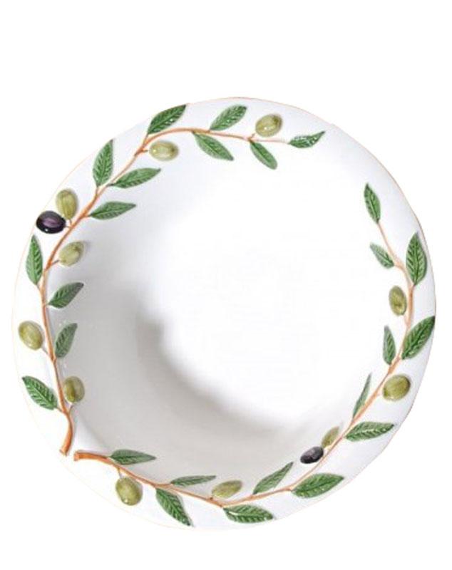 Μπωλ Σερβιρίσματος Φαγιάνς Royal Art 35εκ. LUM2070 (Χρώμα: Λευκό, Υλικό: Φαγιάνς) – Royal Art Collection – LUM2070