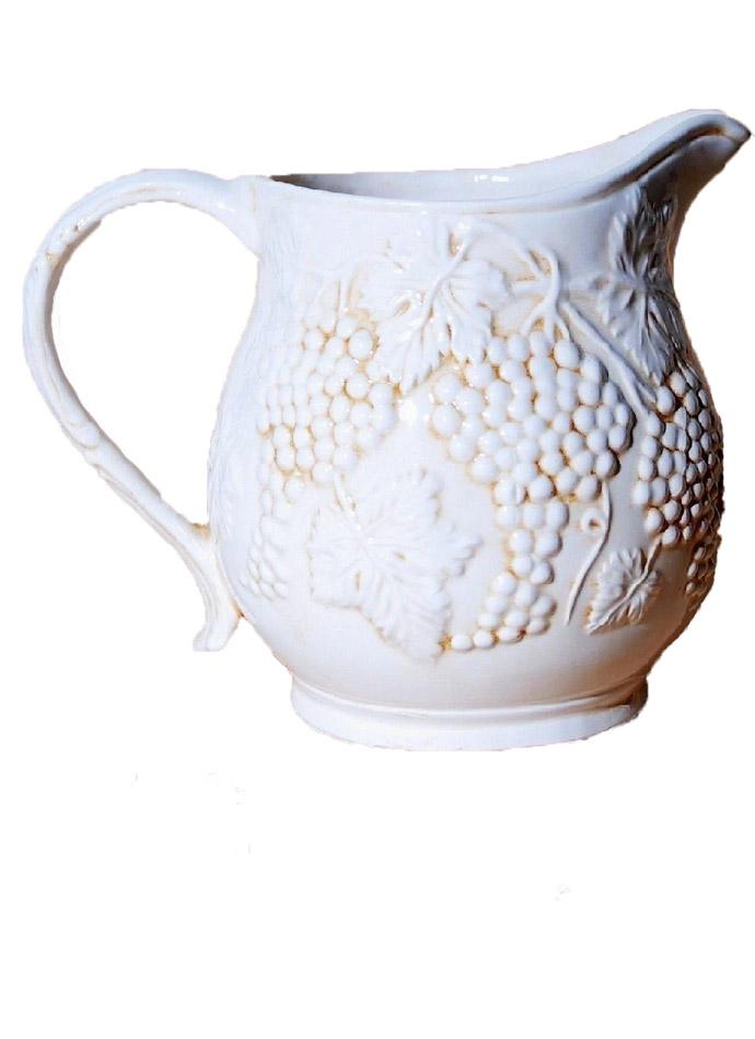 Κανάτα Κεραμική Royal Art 23×19εκ. LUM1967 (Υλικό: Κεραμικό, Χρώμα: Λευκό) – Royal Art Collection – LUM1967