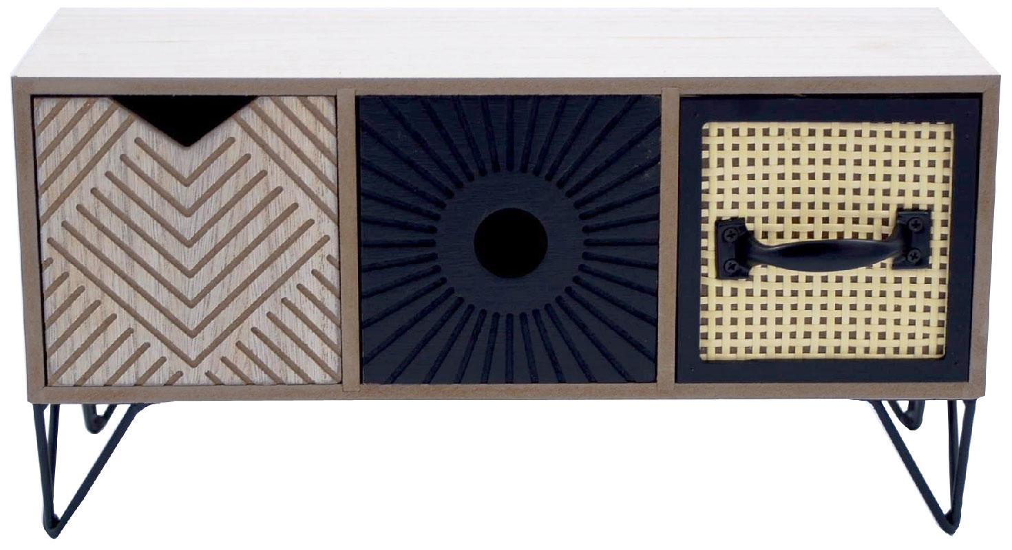 Μίνι Κουτί-Συρταριέρα Ξύλινη Royal Art 37x12x17εκ. STA68454 (Υλικό: Ξύλο) - Royal Art Collection - STA68454