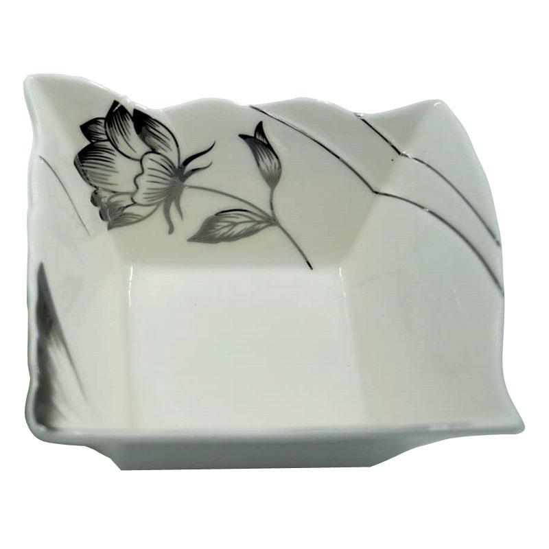 Διακοσμητικό Μπωλ Πορσελάνης Λευκό-Ασημί 13εκ. Royal Art DUE5754SL (Υλικό: Πορσελάνη, Χρώμα: Λευκό) – Royal Art Collection – DUE5754SL