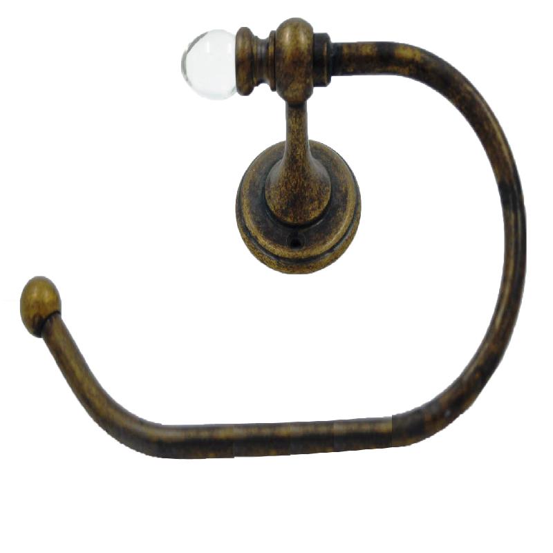 Κρεμάστρα Μπάνιου Μπρούτζινη 22×14εκ. Royal Art STL1794BR (Υλικό: Μπρούτζινο) – Royal Art Collection – STL1794BR