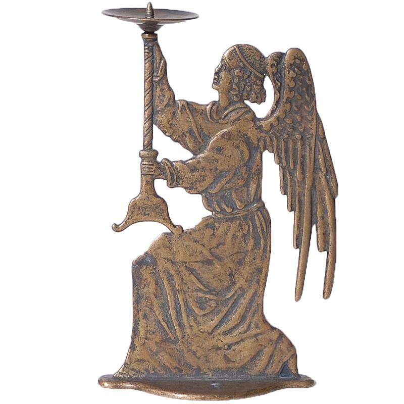 Κηροπήγιο Μπρούτζινο Με Άγγελο 25εκ. Royal Art STL589BR (Υλικό: Μπρούτζινο) – Royal Art Collection – STL589BR