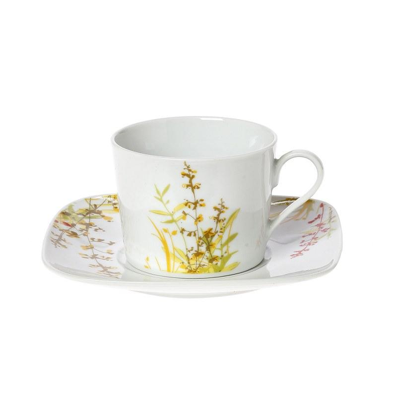 Σετ Φλυτζάνια Καφέ 6τμχ Πορσελάνης Amaryllis CRYSPO TRIO 25.963.17 (Υλικό: Πορσελάνη) – CRYSPO TRIO – 25.963.17