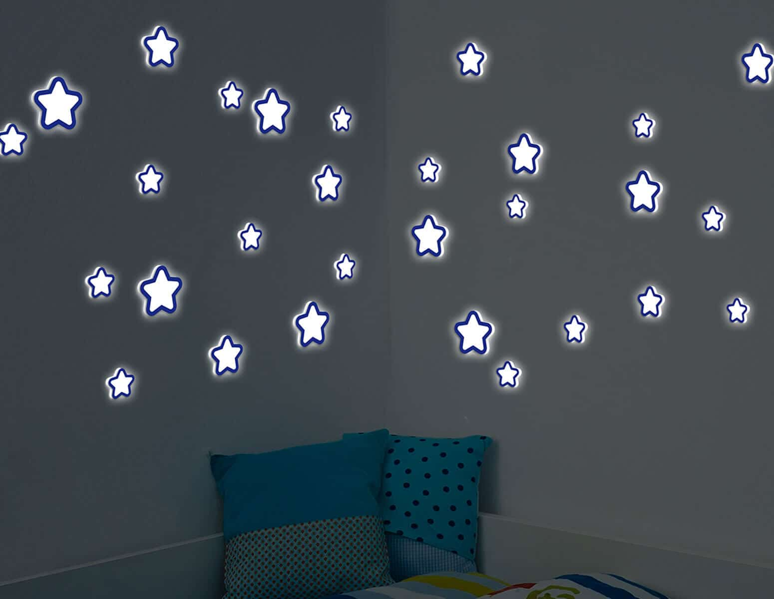 Αυτοκόλλητο Τοίχου Φωσφοριζέ Glow Star Ango 54506 – ango – ANGO_54506