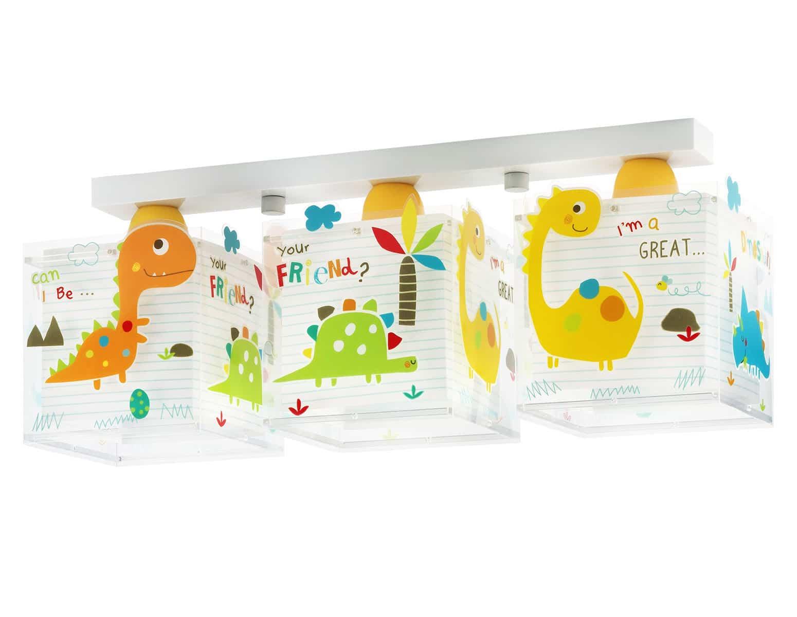 Φωτιστικό Οροφής 3Φωτο Dinos Ango 50×20,5×21εκ. 73453 (Υλικό: Πλαστικό) – ango – ANGO_73453