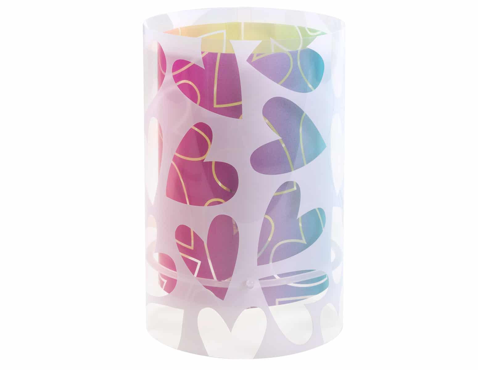 Επιτραπέζιο Φωτιστικό Cuore Ango 14x14x26εκ. 41181 (Υλικό: Πλαστικό) – ango – ANGO_41181