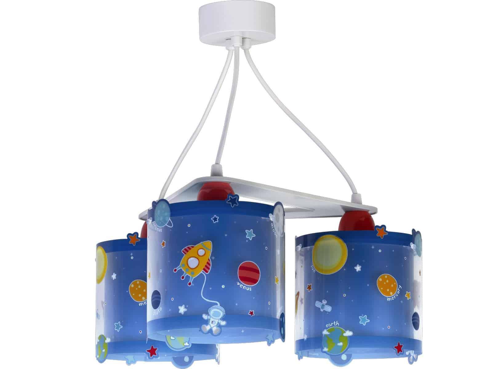 Φωτιστικό Οροφής 3Φωτο Planets Ango 39x39x52εκ. 41344 (Υλικό: Πλαστικό) - ango - ANGO_41344