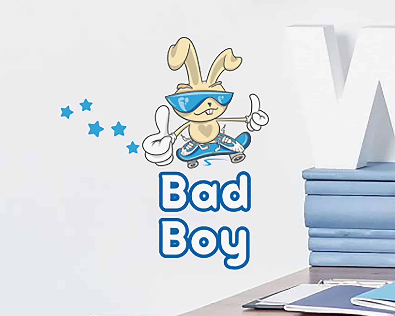 Αυτοκόλλητο Τοίχου Bad Boy Ango 25×25εκ. 11006 – ango – ANGO_11006