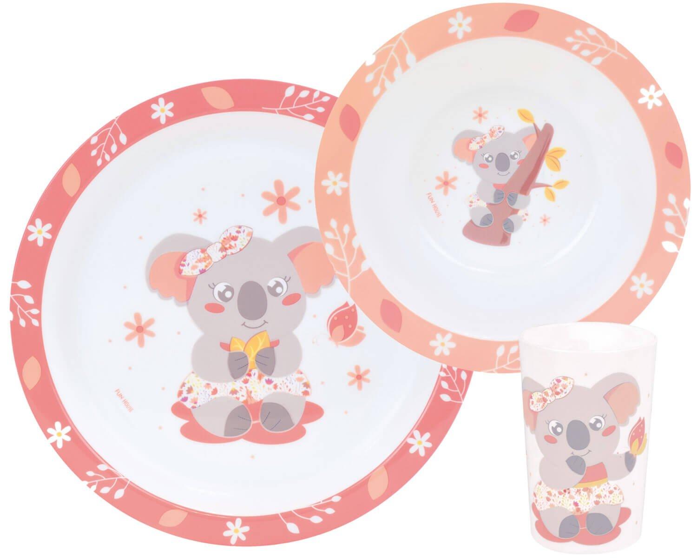 Παιδικό Σετ Φαγητού 3τμχ Koala ANGO 005803 (Υλικό: Πολυπροπυλένιο) – ango – ANGO_005803