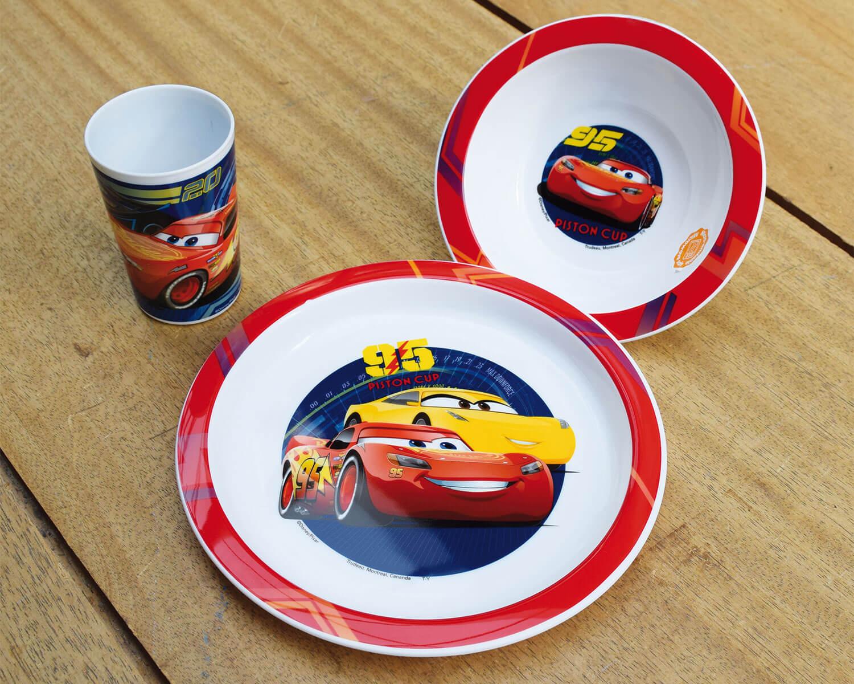 Παιδικό Σετ Φαγητού 3τμχ Cars ANGO 005515 (Υλικό: Πολυπροπυλένιο) – ango – ANGO_005515