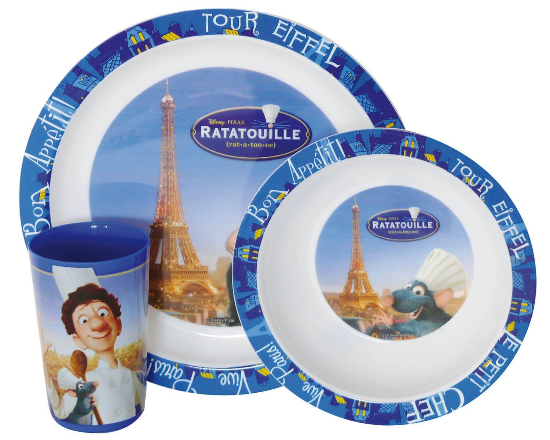 Παιδικό Σετ Φαγητού 3τμχ Ratatouille ANGO 005203 (Υλικό: Πολυπροπυλένιο) – ango – ANGO_005203