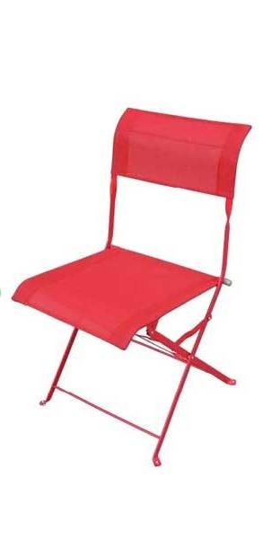 Καρέκλα Εξωτερικού Χώρου Αντικέ/Δ Κόκκινη – OEM – antike/d-red