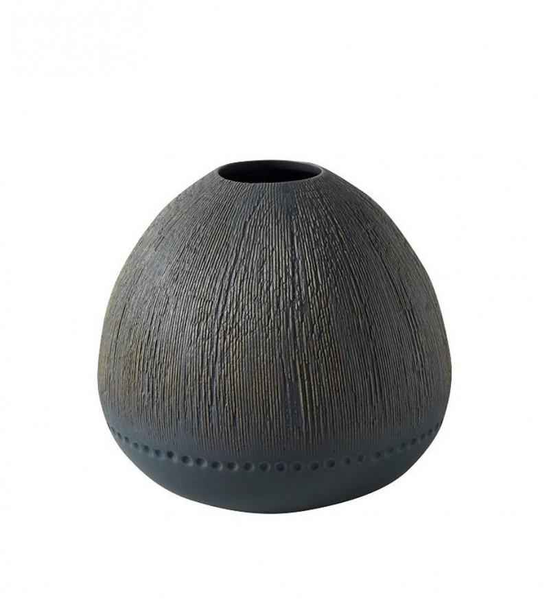 Βάζο Κεραμικό ESPIEL 22,4×20,6εκ. NFU215 (Υλικό: Κεραμικό, Χρώμα: Μαύρο) – ESPIEL – NFU215-1