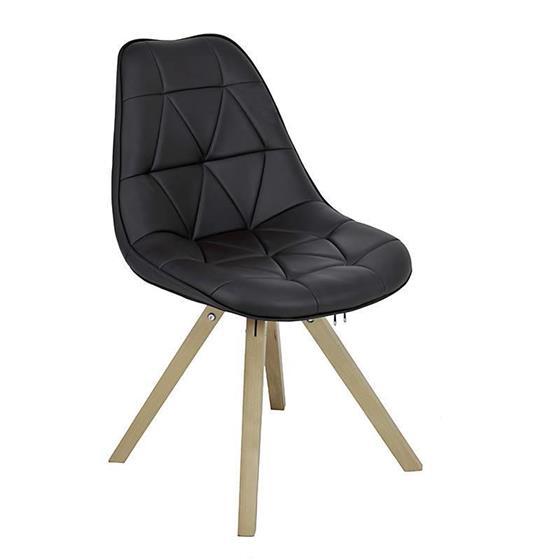 Καρέκλα Pu inart Καφέ – inart – 3-50-104-0263