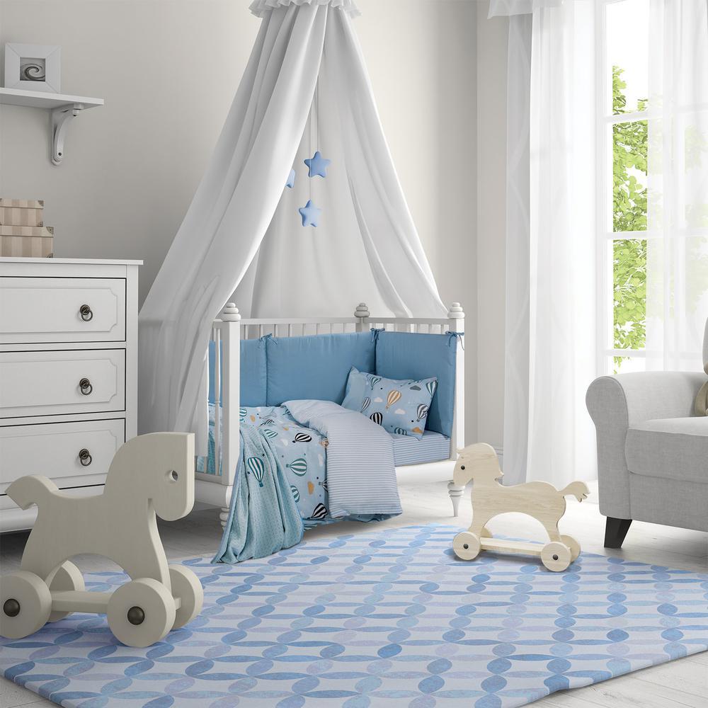 Κουβέρτα Πικέ Κούνιας 110×150εκ. Essential Baby Polo Club 2907 – Greenwich Polo Club – 220110152907