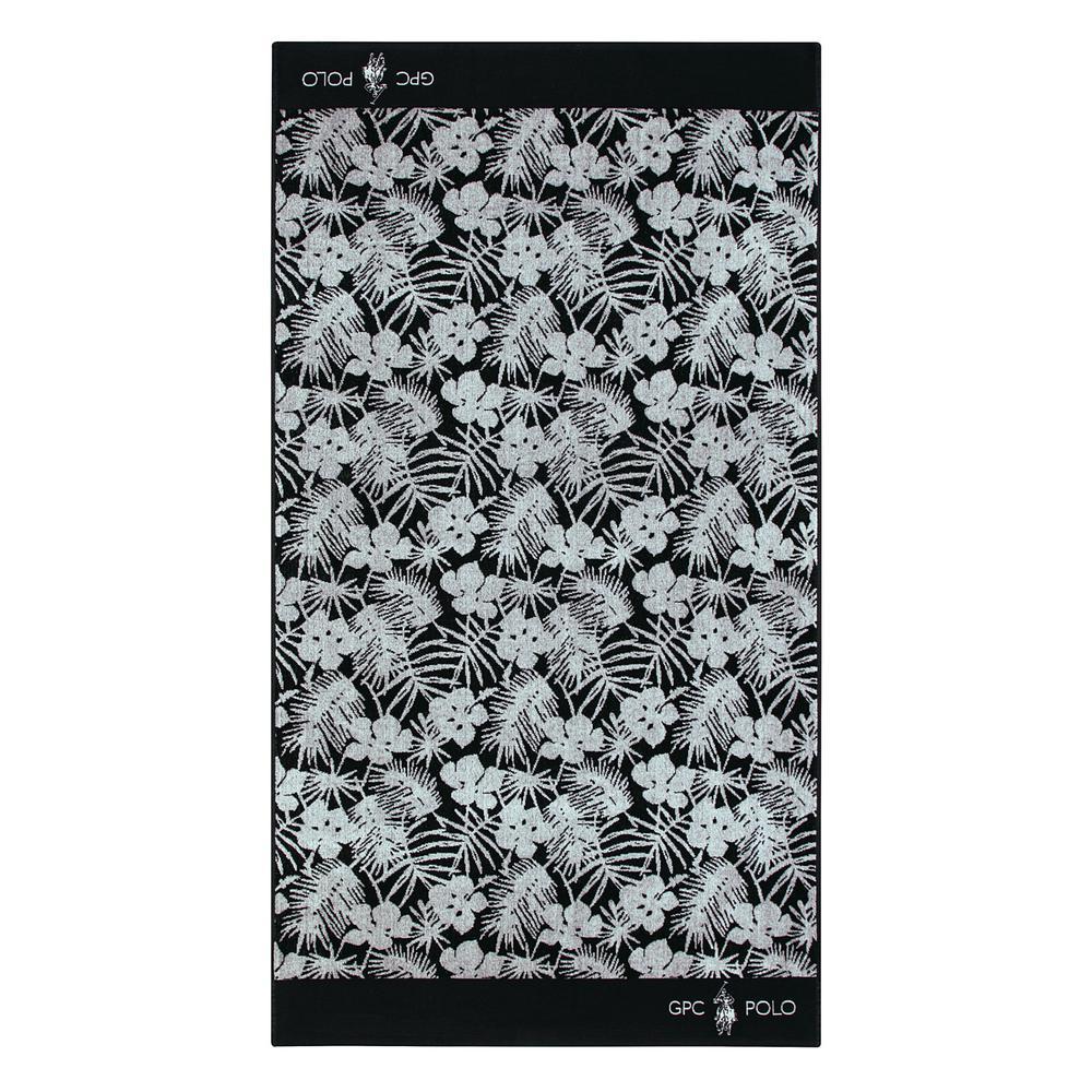 Πετσέτα Θαλάσσης Βαμβακερή 90×170εκ. Essential Greenwich Polo Club 3562 (Ύφασμα: Βαμβάκι 100%, Χρώμα: Μαύρο) – Greenwich Polo Club – 267901703562