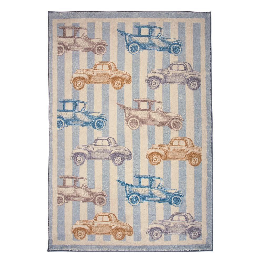 Χαλί Παιδικό Ψηφιακής Εκτύπωσης 110×160εκ. Essential Greenwich Polo Club 3003 (Ύφασμα: Microfiber, Χρώμα: Γκρι) – Greenwich Polo Club – 299911163003