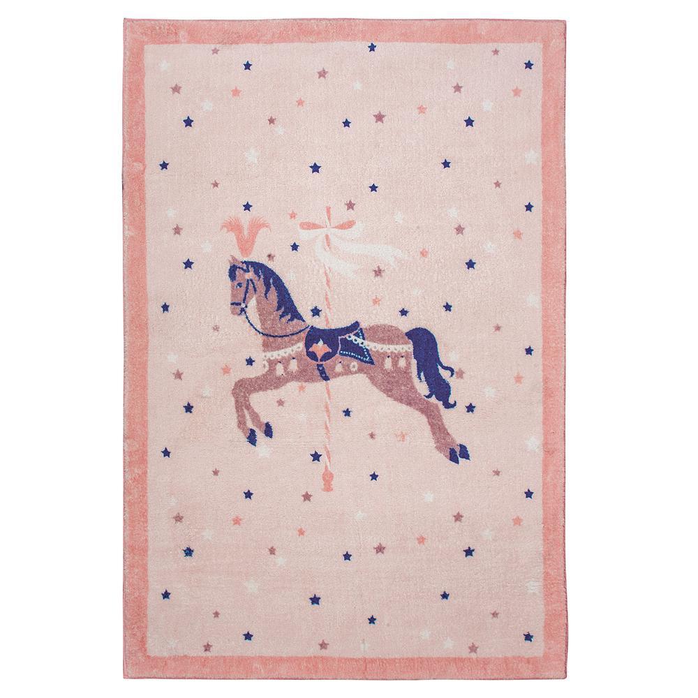 Χαλί Παιδικό Ψηφιακής Εκτύπωσης 110×160εκ. Essential Greenwich Polo Club 3007 (Ύφασμα: Microfiber, Χρώμα: Ροζ) – Greenwich Polo Club – 299911163007
