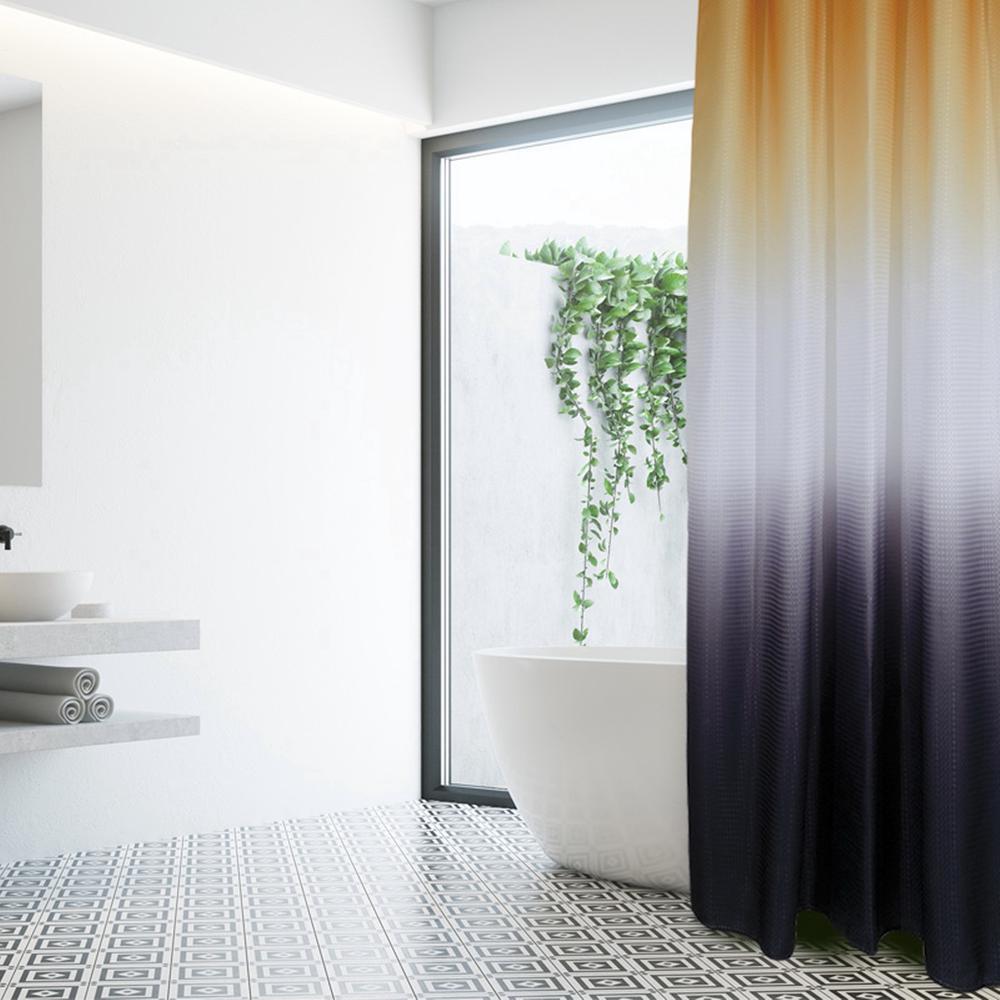 Κουρτίνα Μπάνιου Polyester 200×180εκ. Bath 1078 Das Home (Ύφασμα: Polyester, Χρώμα: Λευκό) – Das Home – 420120001078