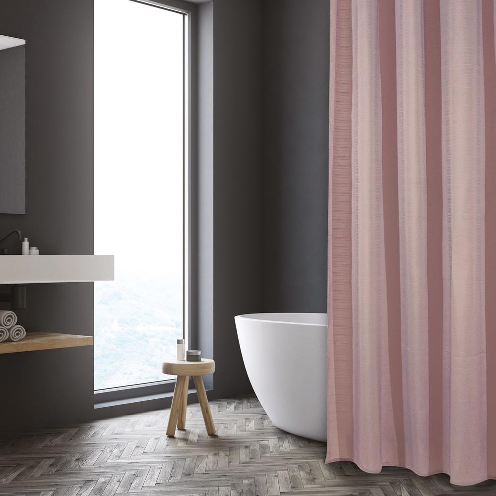 Κουρτίνα Μπάνιου Polyester 200×180εκ. Bath 1089 Das Home (Ύφασμα: Polyester, Χρώμα: Nude) – Das Home – 420120001089