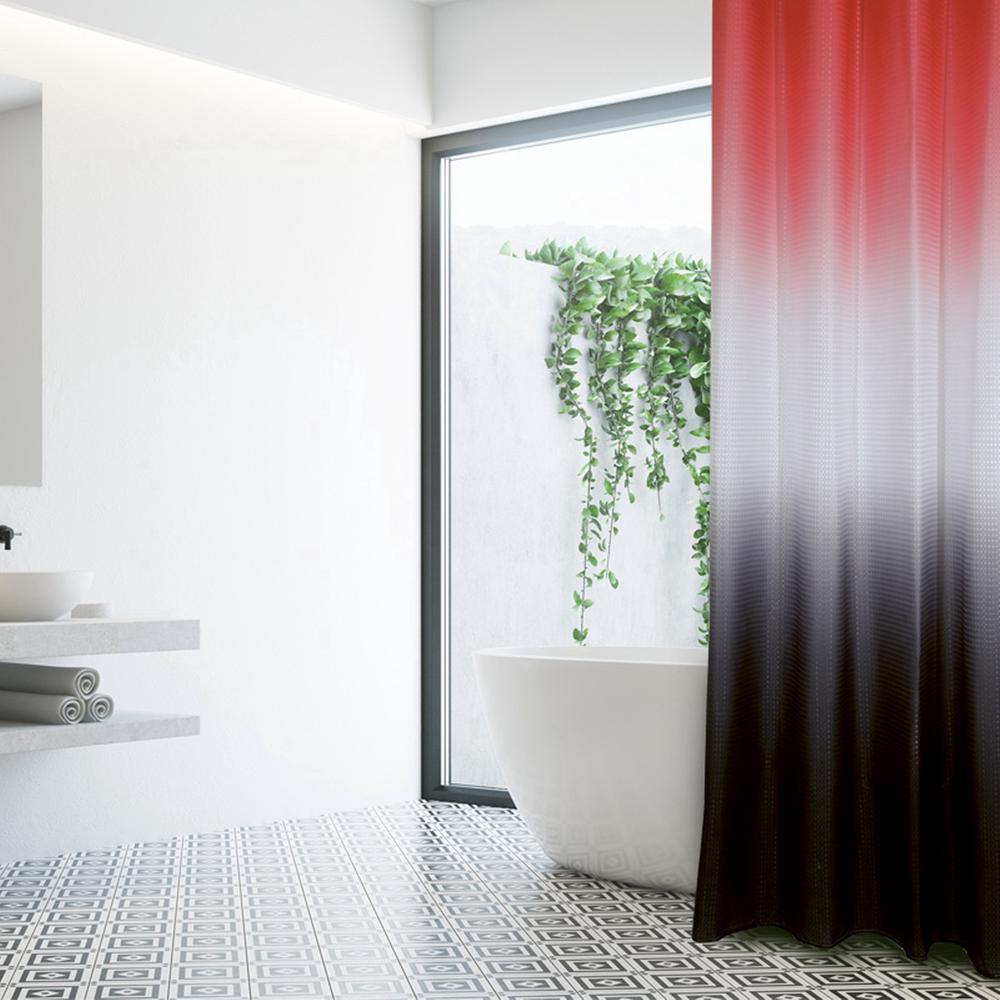 Κουρτίνα Μπάνιου Polyester 240×180εκ. Bath 1080 Das Home (Ύφασμα: Polyester, Χρώμα: Λευκό) – Das Home – 420124001080